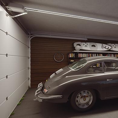 Puerta basculante garaje automatizada Desoval